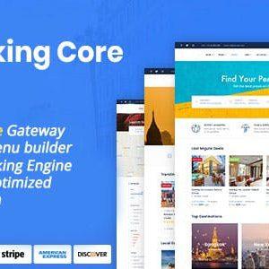 دانلود اسکریپت سیستم رزرواسیون Booking Core